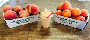peach slushy